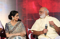 Sri Devi in designer saree stunning beauty at the launch of MOM movie Trailer~  Exclusive 126.JPG