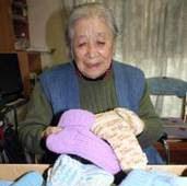 石田和子さん、被災地にクリスマスプレゼント