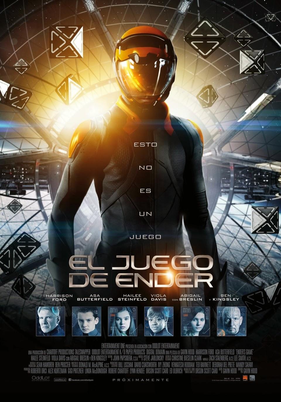 Ben Davis Ford >> Cine y ... ¡acción!: El juego de Ender (Ender's Game)