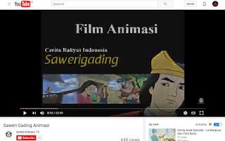 Film Animasi; Kisah Cinta Sawerigading