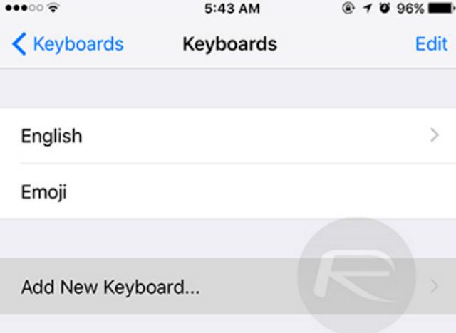 طريقة رائعة لفتح لوحة مفاتيح التعبيرات المخفيّة لأجهزة iPad وiPhone