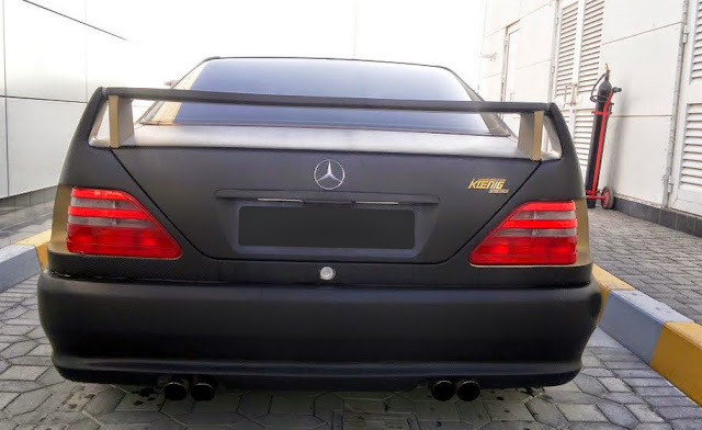 mercedes cl 140 koenig specials body kit