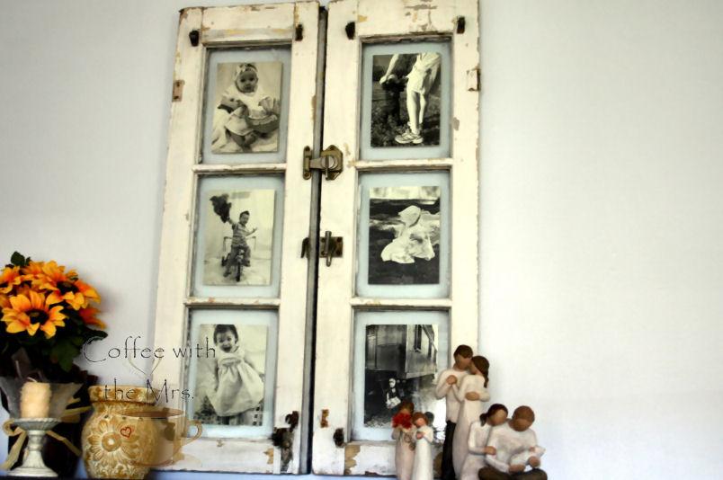 My DIY Window~Frame | Amy Clary
