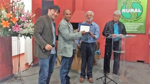 Sindicato Rural homenageia agricultores no Vale do Ribeira