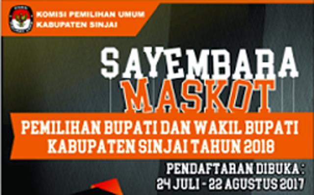 Sofyan Sabet Juara I Lomba Maskot Pilkada Sinjai