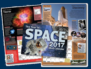 WIN a 2017 Year In Space Calendar!