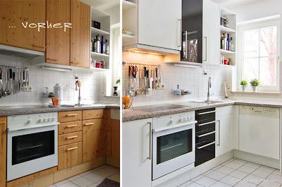 Küche renovieren, Küche, Fronten, Küchenfronten, Griffe, Haushaltsgeräte, tauschen - und Aschenbrödel wird zur Prinzessin!