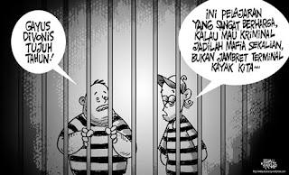 Pengertian Tersangka, Terdakwa dan Terpidana atau Terhukum Dalam Hukum Pidana