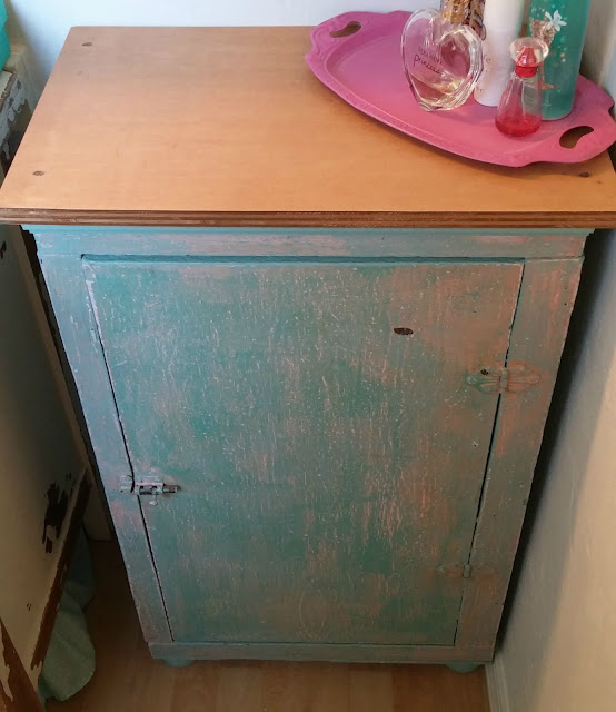 Upcycled Kitchen Cabinet