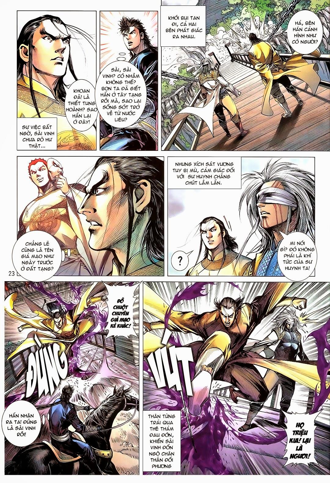 tuoithodudoi.com Thiết Tướng Tung Hoành Chapter 110 - 23.jpg