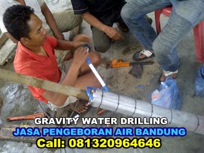 AHLINYA TUKANG SUMUR BOR DI BANDUNG, GRAVITY WATER DRILLING