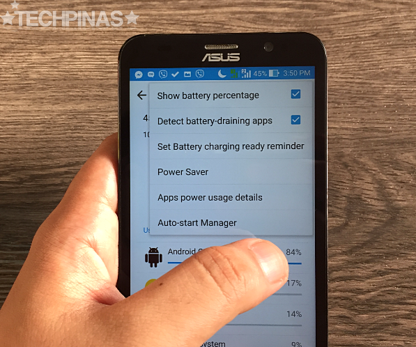 Increase Battery Life of Asus ZenFone