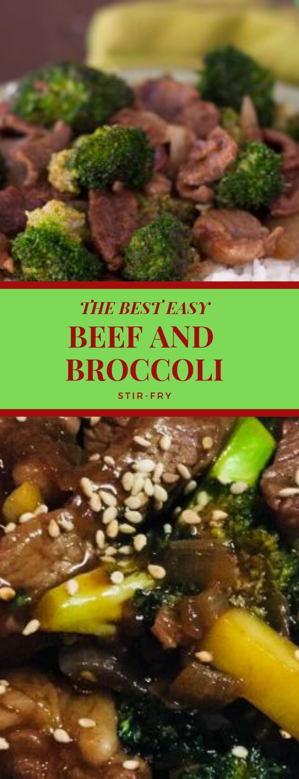 THE BEST EASY BEEF AND BROCCOLI STIR-FRY #BEEF #BROCCOLI #STIRFRY