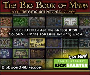 Please support my Kickstarter! The Big Book of Maps for Tabletop Roleplaying Games by Justin Andrew Mason