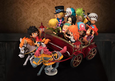 One Piece WCF Party Just Being Me Figure (Ride on Horse Wagon) - Banpresto