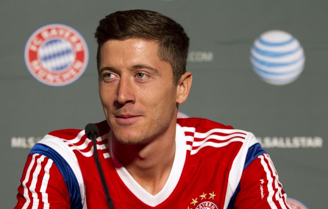 Robert Lewandowski Top Focus of Manchester United