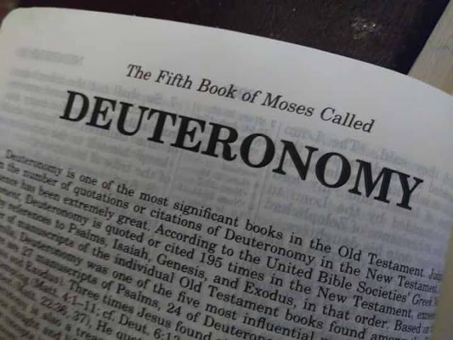 """""""Deuteronomy"""""""