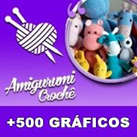 Bichinhos de Crochê: 30 Gráficos e Receitas em Português - Baixe ... | 200x200