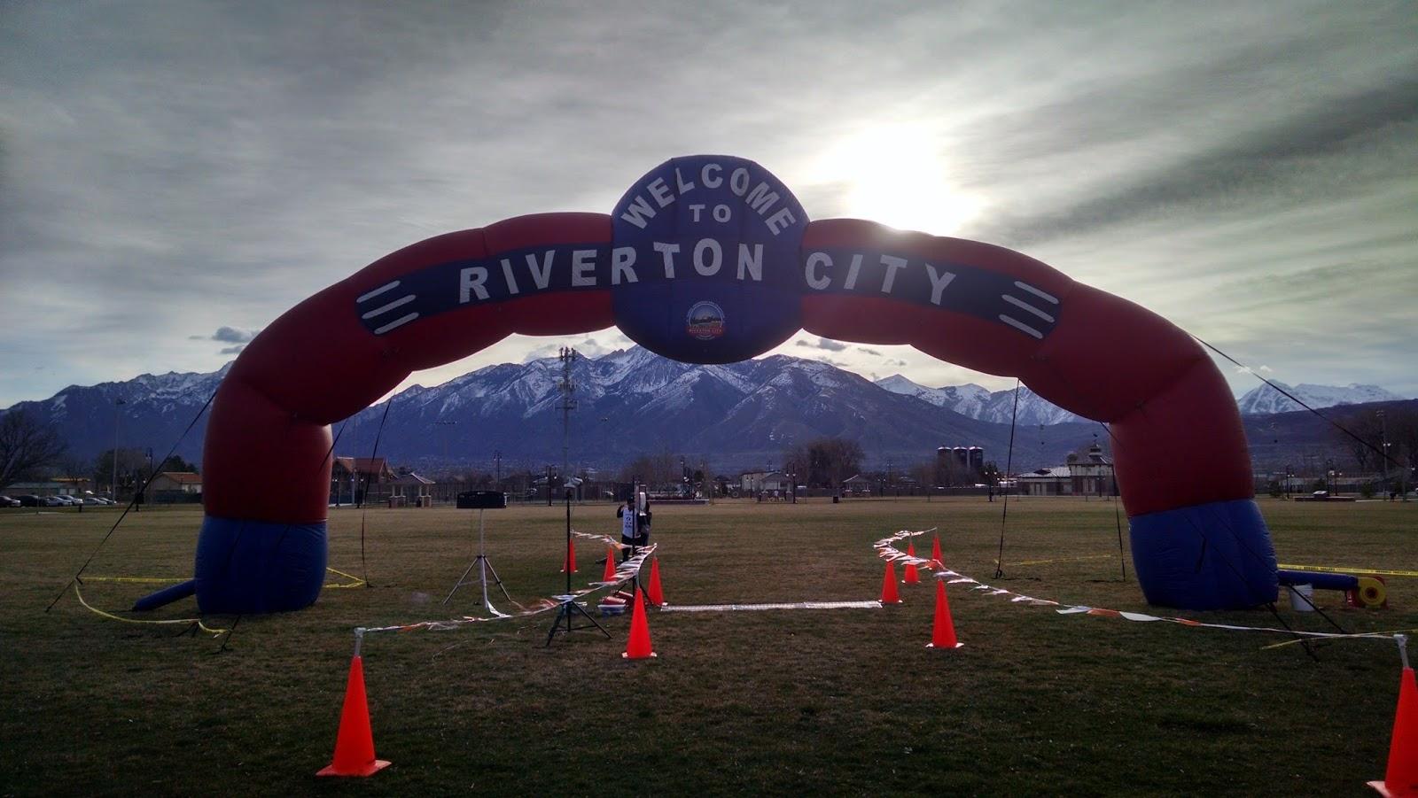 Running on Eddie: 2018 Riverton Half Marathon - Riverton, UT