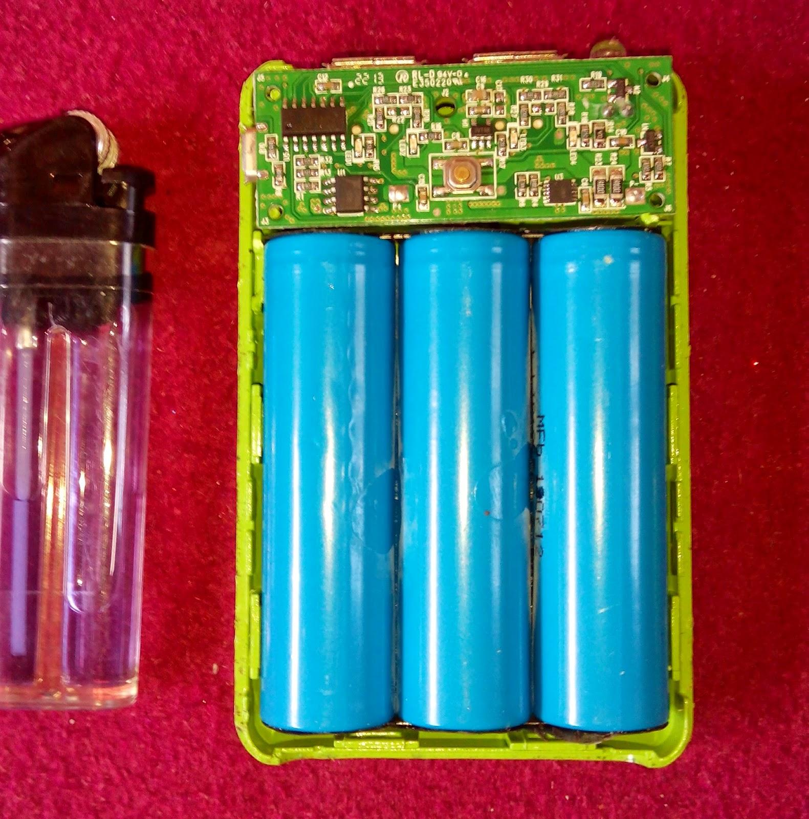 Syarat oboh Powerbank ganti baterai