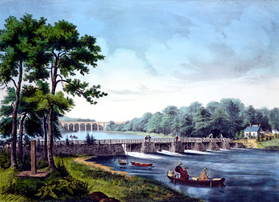 Harlem River Currier and Ives