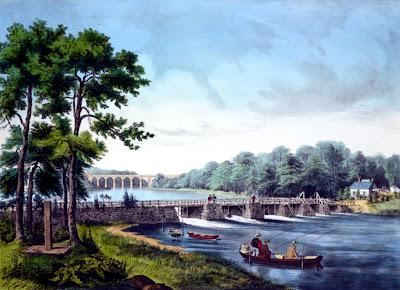 Harlem River Currier and Ives
