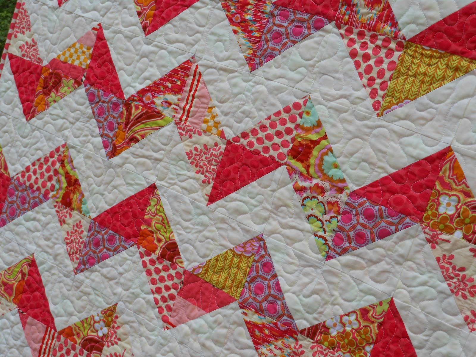 must admit that when I first started putting the original quilt ...