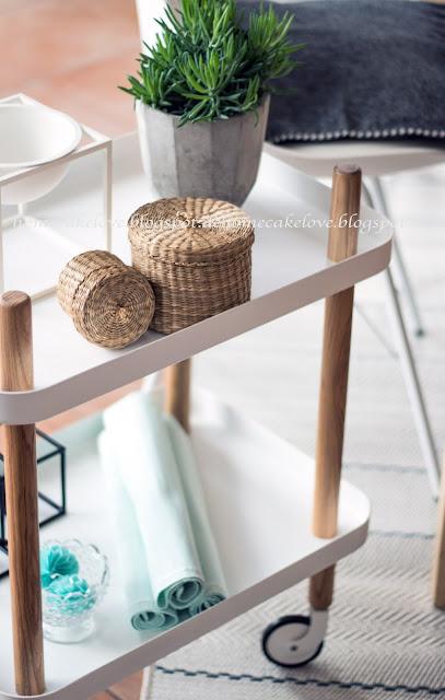 Teppich neu von benuta, Teppich online bestellen, Teppich Inspiration, welcher Teppich für Esszimmer, Outdoorteppich, Beistellwagen Normann Copenhagen,