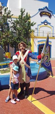 Hopi Hari Com Crianças