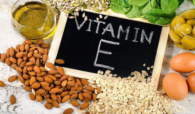 فيتامين هـ E Vitamin  - وظائفه , مصادره , الامراض المتعلقه والكمية الموصى بها