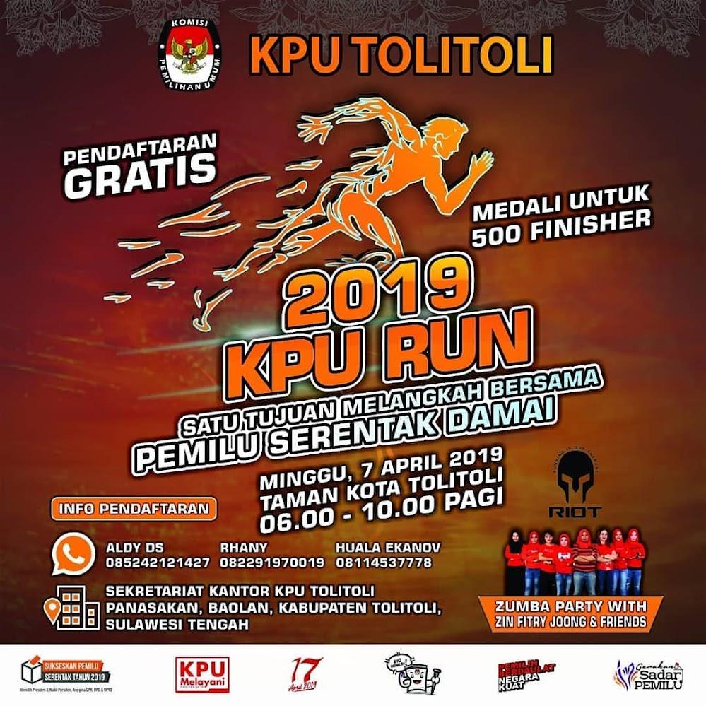 Pemilu Run - Tolitoli • 2019