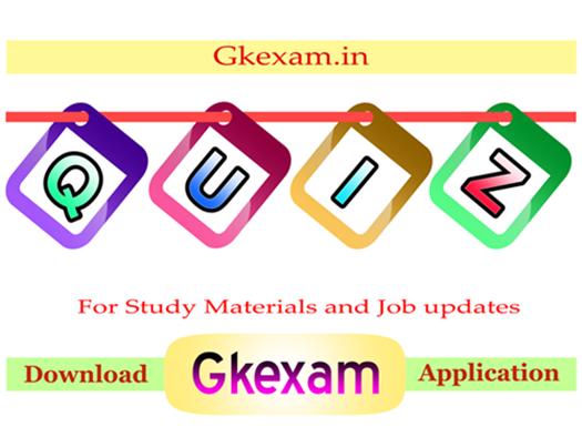Gkexam Quiz