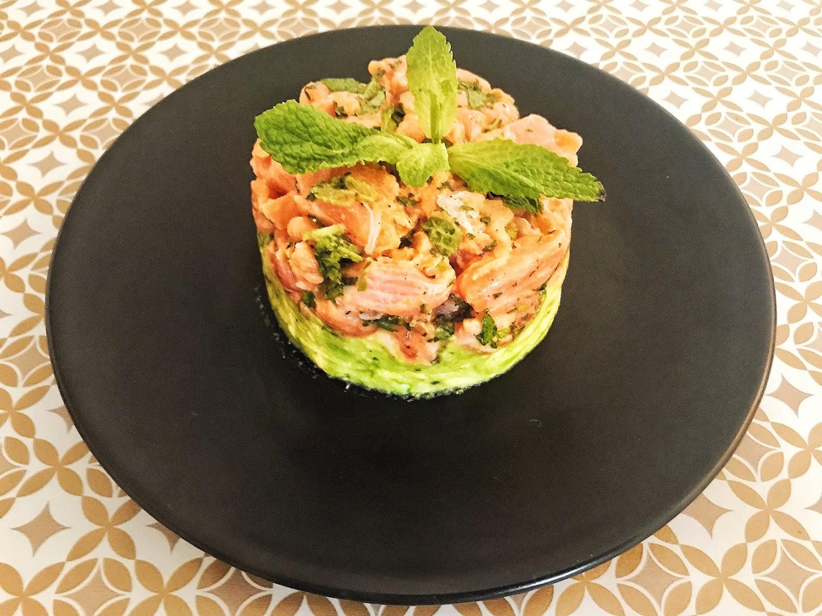 Tartare de Saumon Frais et Avocat