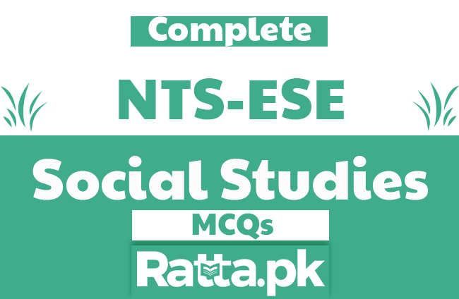 Social Studies MCQs with Answers pdf for NTS Test