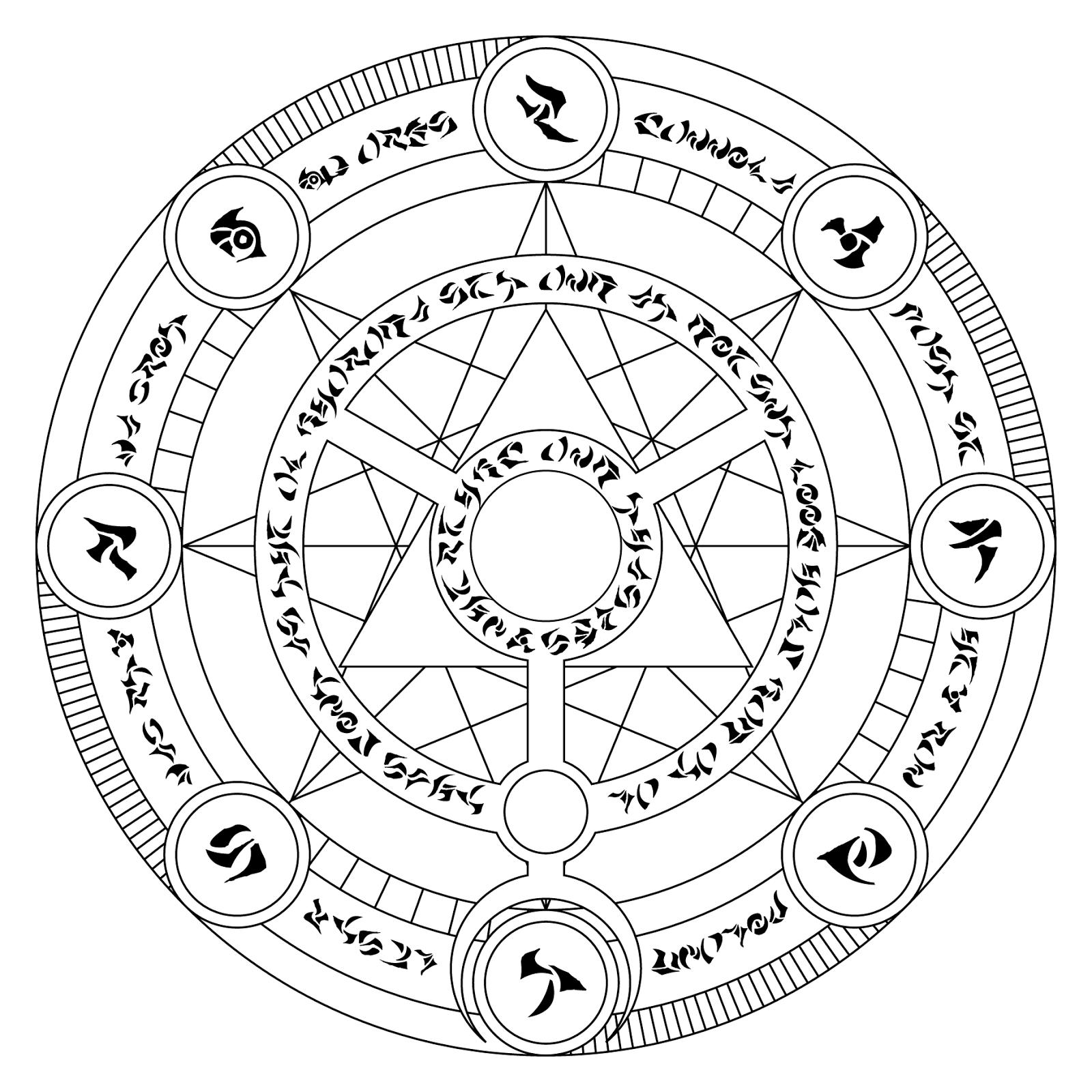 Black Magic Symbols