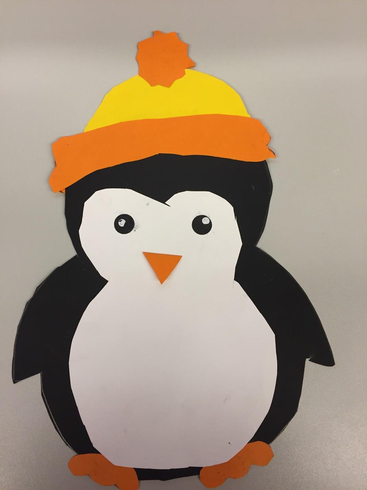 Pinguin Vorlage Pinguin Basteln Vorlage Pdf Kribbelbunt 3
