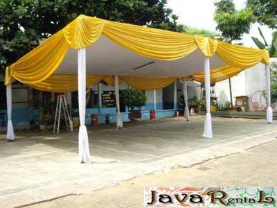 Penyewaan Tenda Plafon VIP - Murah