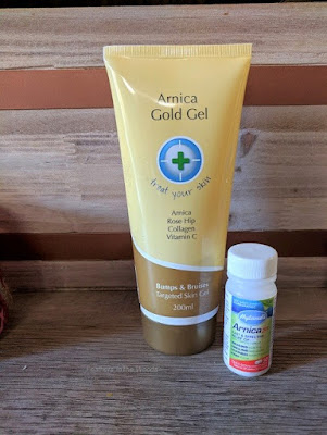 Arnica for sore muscles