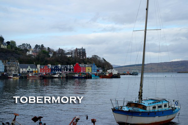 écosse highlands île mull tobermory