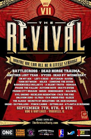 The Revival Party by Bad Ass Productions, September 7-9, Yorkville, IL
