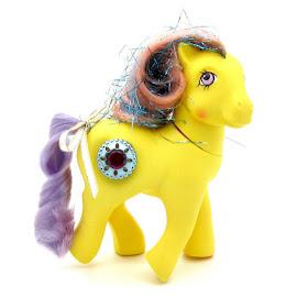MLP Princess Amber Year Five Int. Princess Ponies G1 Pony