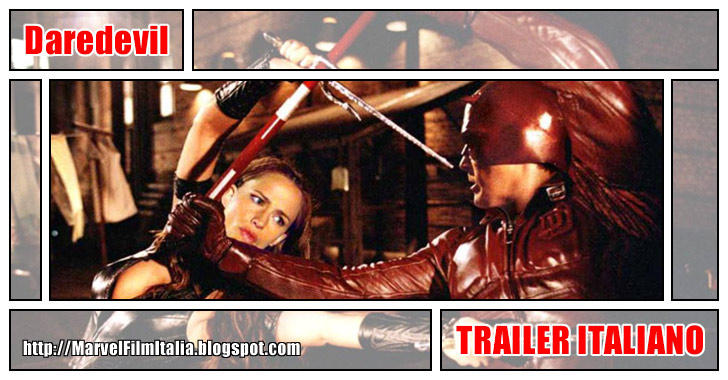 Marvel Film Italia: Daredevil (2003) - Trailer italiano