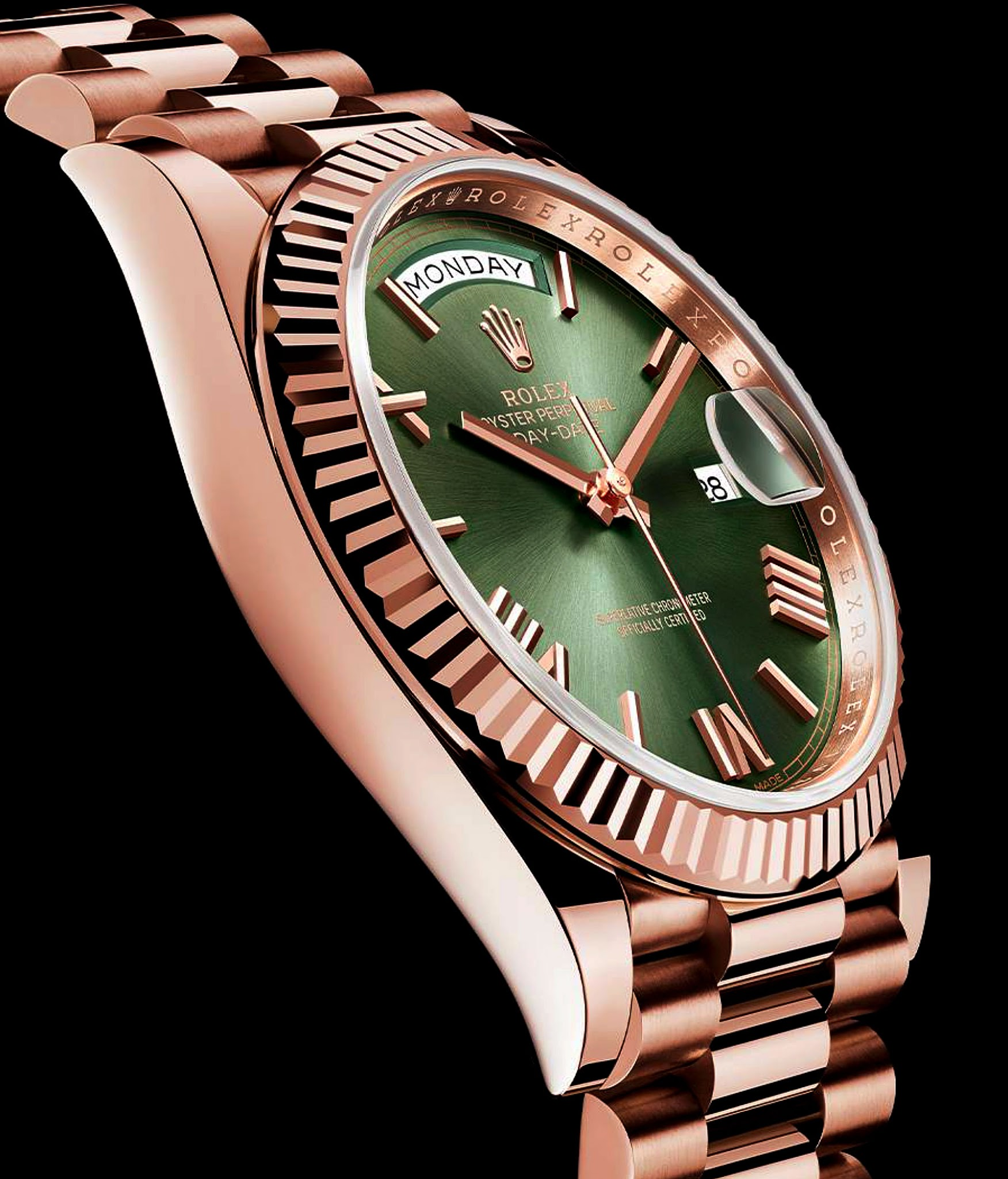 is presidential dia image bezel president ladies dial diamond watches yellow quickset loading chm itm champagne bds rolex gold