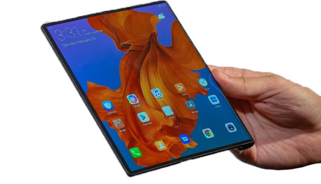 Huawei Mate X First Look-Impressive Foldable Phone-Hola In
