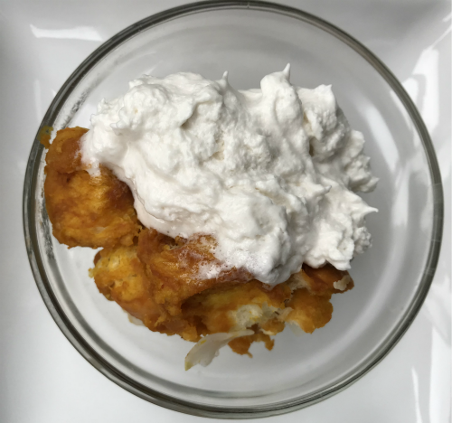 GLUTENFREE VEGAN PUMPKIN COCONUT BREAD PUDDING