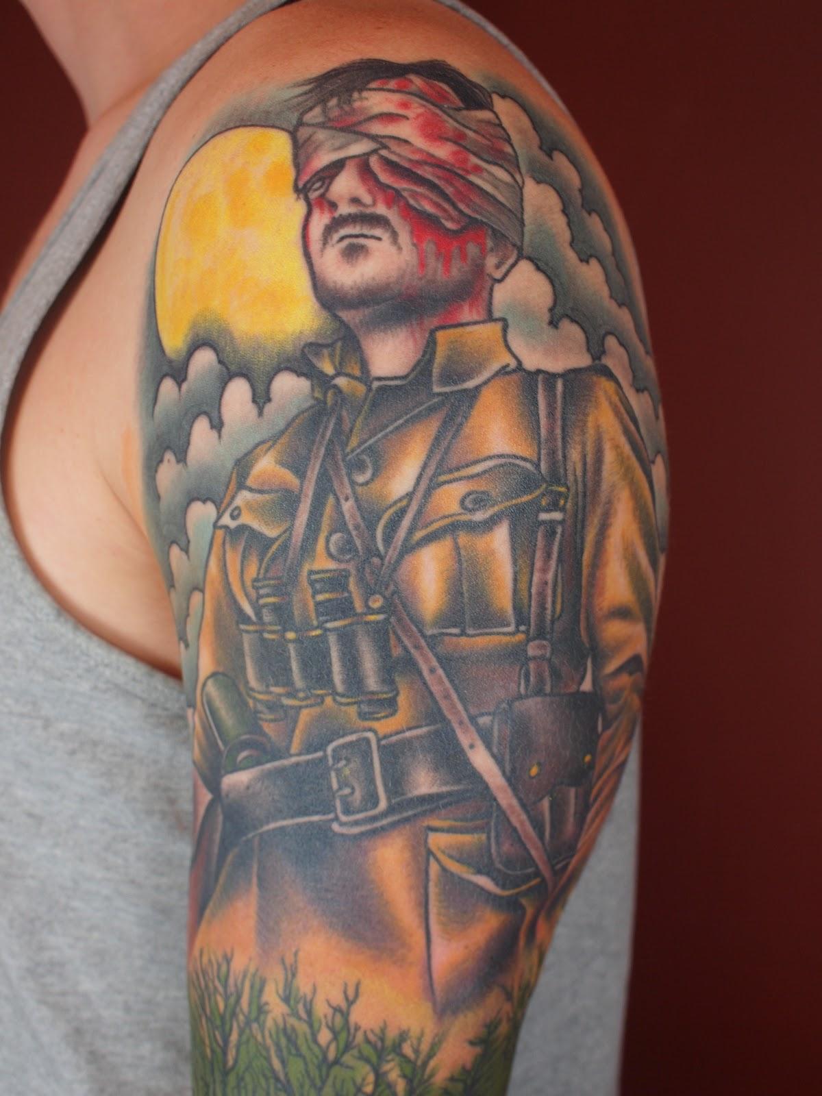 Third Eye Tattoo: Third Eye Tattoo: Sleeve Done By Nick