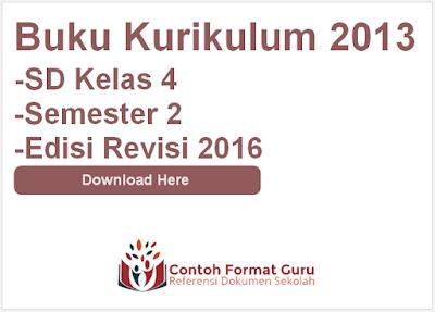 SD Kelas 4 Semester 2 Edisi Revisi 2016
