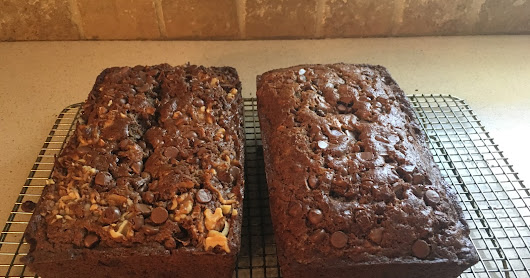 Chocolate Chocolate-Chip Banana Bread