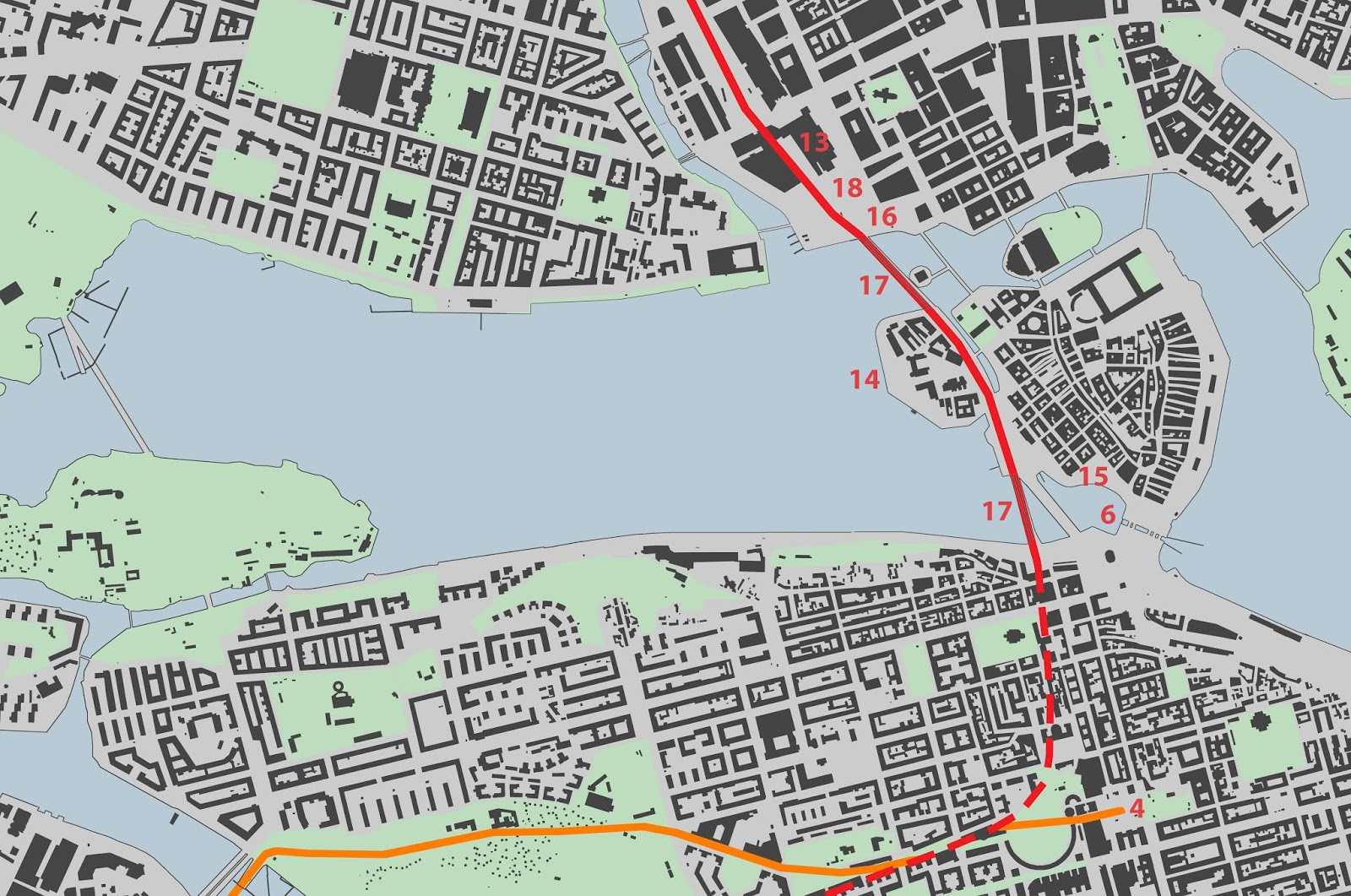 Walking Stockholm: The Railroad Comes to Stockholm
