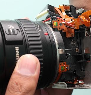 Solusi Lensa Kamera Rusak
